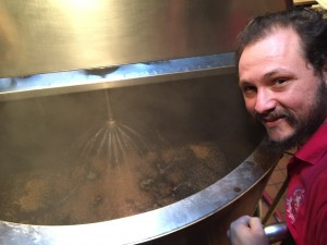 Chophouse Mash tun with carafa malt