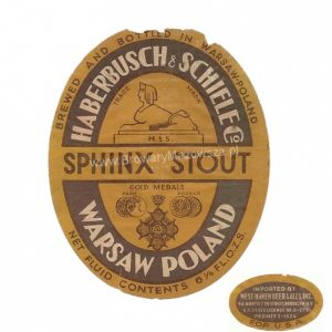 Sphinx Stout exported to Brooklyn, courtesy of Grzegorz Berlinski, http://www.browarymazowsza.pl/